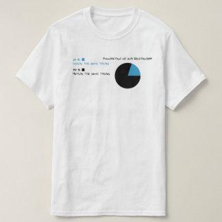 Relationship Pie Chart - funny tshirt