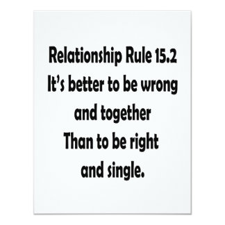 relationship rule 15.2 better to be wrong announcements