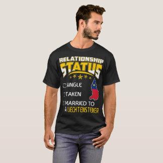 Relationship Single Taken Married Liechtensteiner T-Shirt