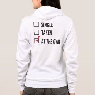 Relationship Status Gym Hoodie