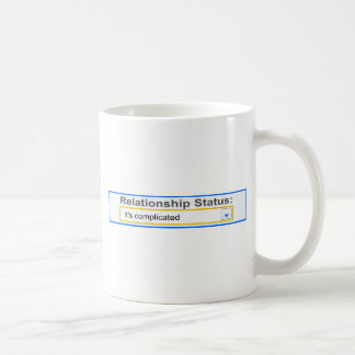 Relationship Status It's Complicated Design Mugs