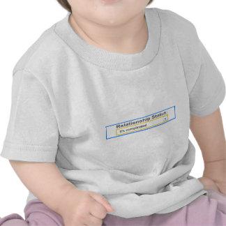 Relationship Status It's Complicated Design Tee Shirt