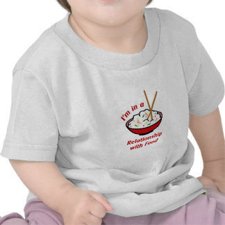 RELATIONSHIP WITH FOOD T-SHIRTS
