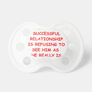 relationships BooginHead pacifier