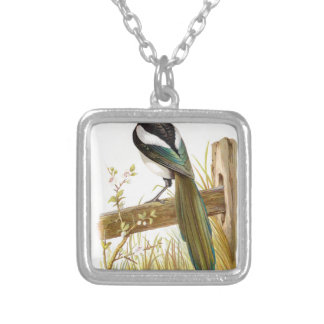 Relative Wild Birds Swaysland Magpie Silver Plated Necklace