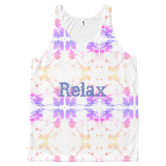 Relax All-Over Print Tank Top