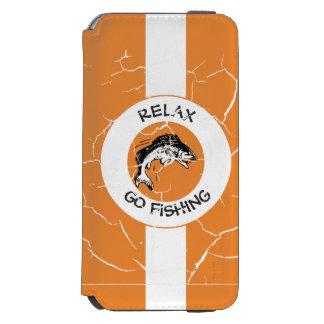 RELAXANDGO FISHING INCIPIO WATSON™ iPhone 6 WALLET CASE