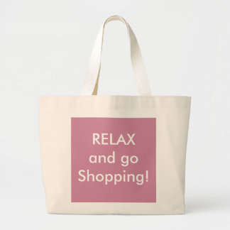 RELAX and go Shopping - Tote bag