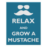 Relax and Grow a Moustache