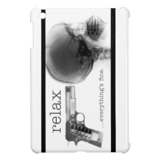 Relax...everything's fine. (X-ray Gun to the Head) Cover For The iPad Mini