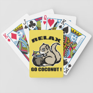 Relax! Go Coconut Poker Deck