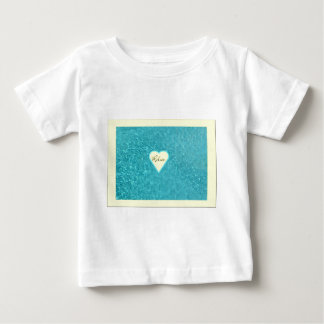 Relax Heart Baby Clothes Tshirt