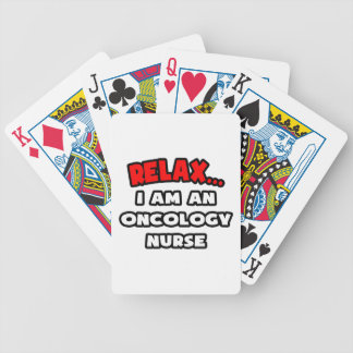 Relax I Am An Oncology Nurse Bicycle Card Deck