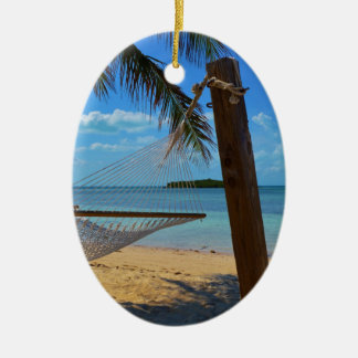 Relax in the Bahamas Christmas Ornament
