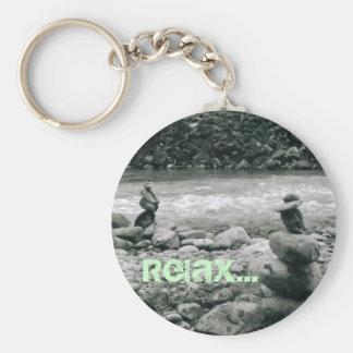 Relax Key Ring