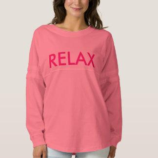 Relax! Ladies' Football Tee