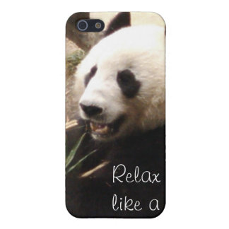 Relax like a panda iPhone 5 covers
