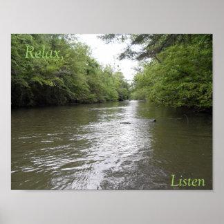 Relax, Listen. River Poster