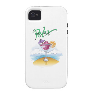 RELAX ON THE BEACH Case-Mate iPhone 4 COVERS