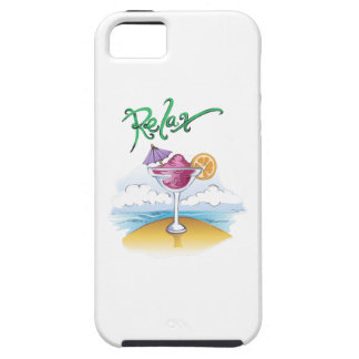 RELAX ON THE BEACH iPhone 5 COVERS