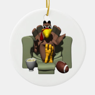 Relax On Turkey Day Christmas Ornament