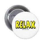 Relax Pinback Buttons