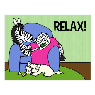 Relax! Postcard