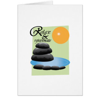 Relax & Rejuvenate Greeting Cards