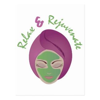 Relax & Rejuvenate Postcard