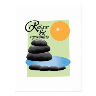 Relax & Rejuvenate Post Card