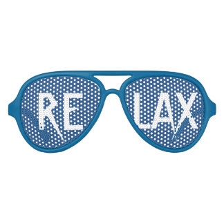 RELAX Text Party Shades