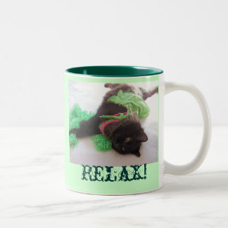 Relax Two-Tone Coffee Mug