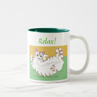 Relax! Two-Tone Coffee Mug