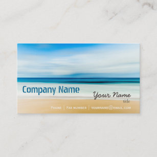 Spa and relax business cards zazzle uk relaxation beach elegant spa travel vacation business card reheart Choice Image