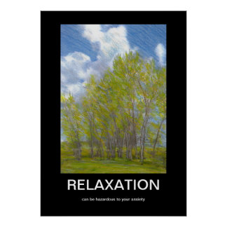 Relaxation Demotivational Poster
