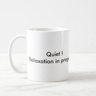 relaxation in progress mug
