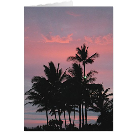 Relaxation Kauai Style Card