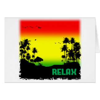 relaxation rasta card