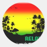relaxation rasta sticker