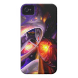 Relaxation Theory Abstract iPhone 4 Cases