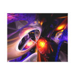 Relaxation Theory Abstract Stretched Canvas Print
