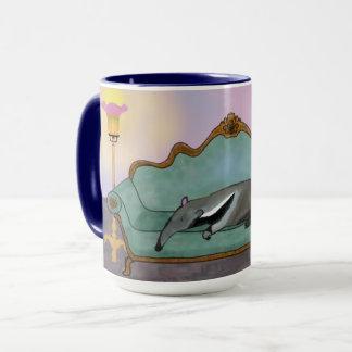 Relaxing Anteater Mug