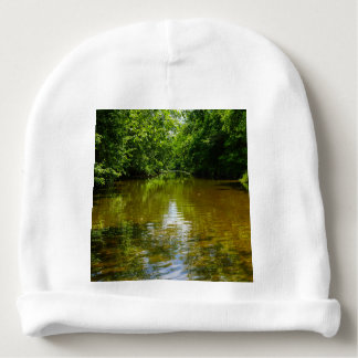 Relaxing At The Creek Baby Beanie