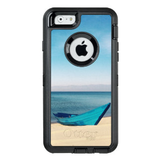 Relaxing Beach Turquoise Water OtterBox Defender iPhone Case