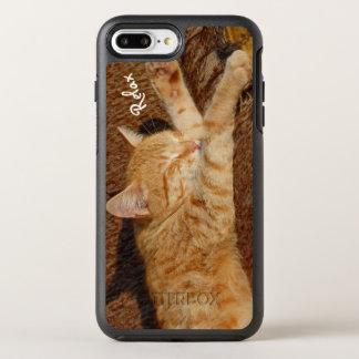 Relaxing Cat OtterBox Symmetry iPhone 8 Plus/7 Plus Case