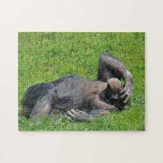 Relaxing Chimpanzee - Puzzle