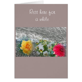 Relaxing get well card