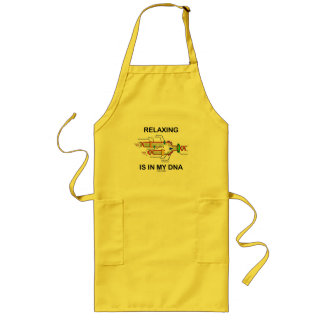 Relaxing Is In My DNA (DNA Replication) Long Apron