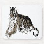 Relaxing Tiger Mousepad