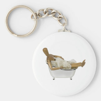 RelaxingBathtub120709 copy Key Ring